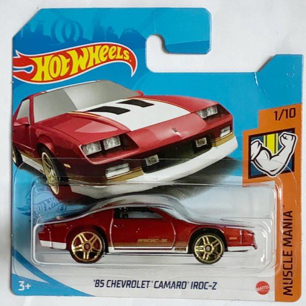 Hot Wheels | '85 Chevrolet Camaro IROC-C red metallic