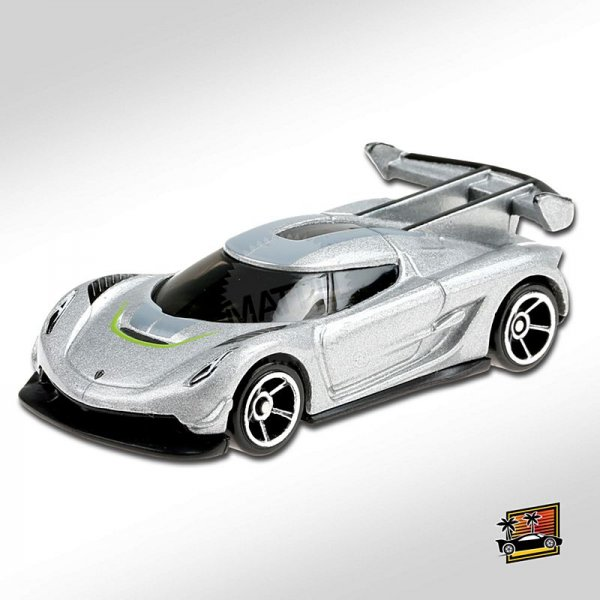Hot Wheels | 2020 Koeningsegg Jesko silver