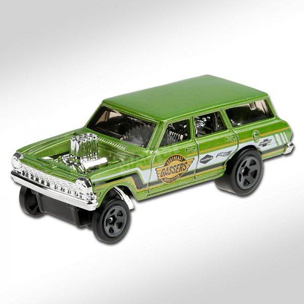 Hot Wheels | '64 Chevy Nova Wagon Gasser SOUTHEAST GASSER ASSOCIATION light green metallic