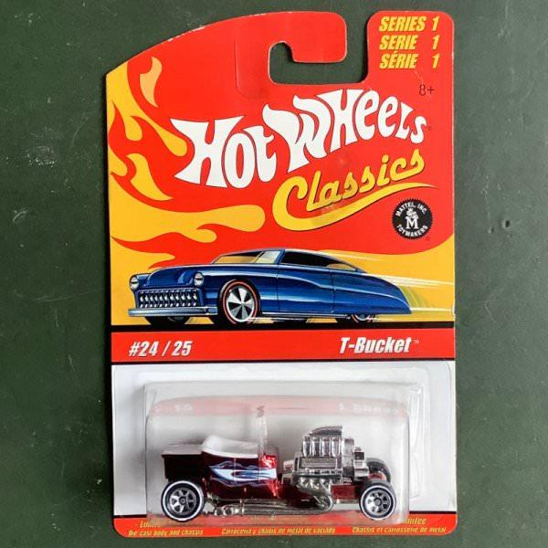 Hot Wheels   Classics Series 1 #24/25 T-Bucket red metallic 2