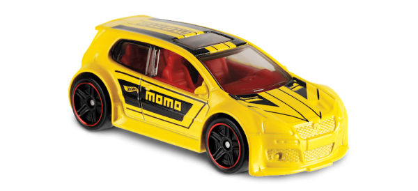 Hot Wheels | Volkswagen Golf GTI Momo gelb