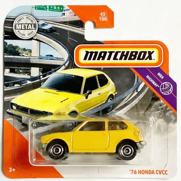 Matchbox | Honda Civic dark yellow