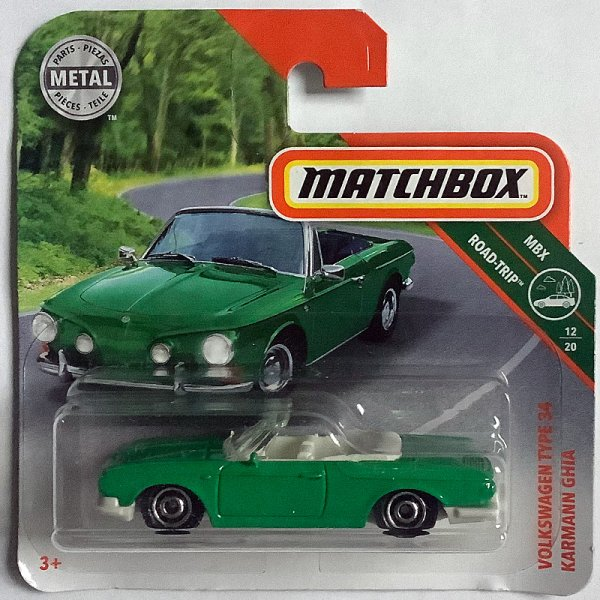 Matchbox | Volkswagen Type 34 Karmann Ghia toxic green