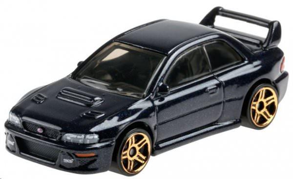Hot Wheels | '98 Subaru Impreza 228 STi-Version black-blue metallic