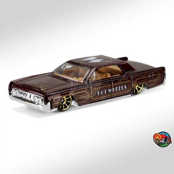 Hot Wheels | '64 Lincoln Continental ART CAR brown metallic