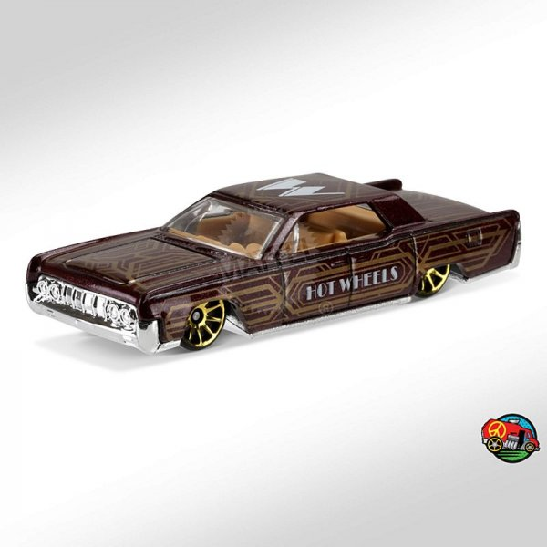 Hot Wheels | '64 Lincoln Continental ART CAR braunmetallic