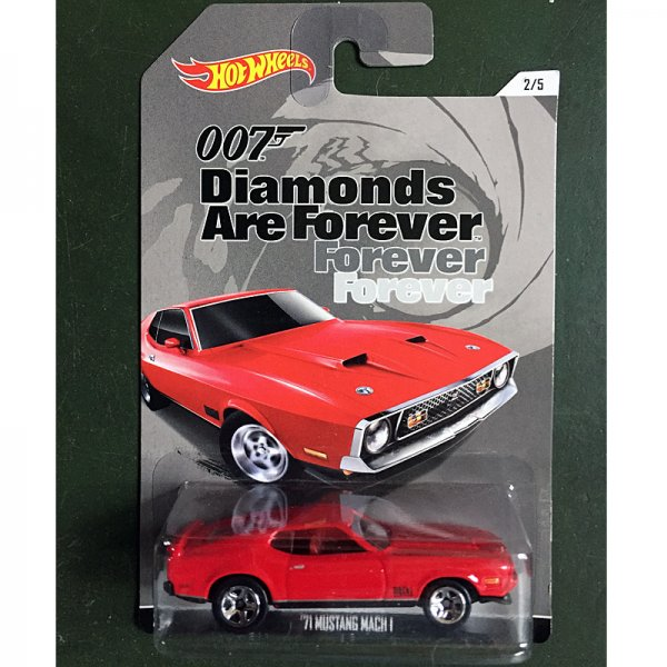 Hot Wheels | '71 Mustang Mach I Diamonds for ever