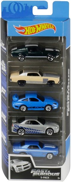 Hot Wheels | 5-Pack Fast & Furious 2020
