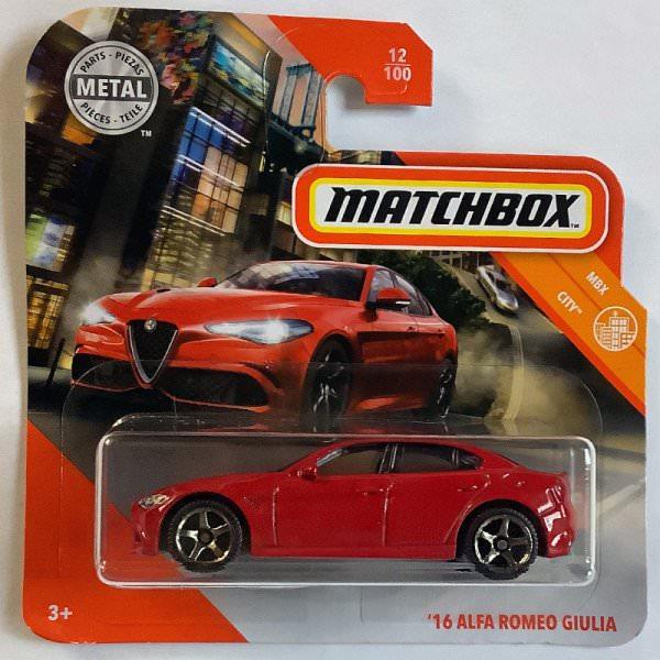 Matchbox | '16 Alfa Romeo Giulia rot
