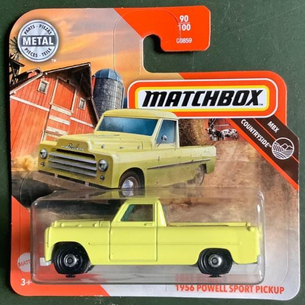Matchbox | 1956 Powell Sport Pickup yellow