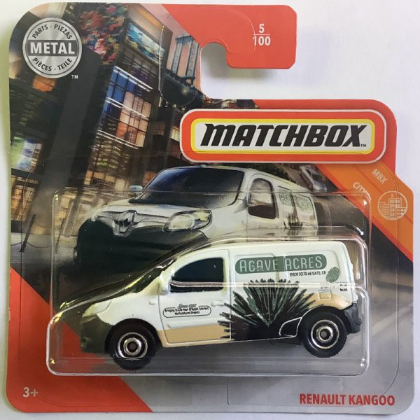 Matchbox | Renault Kangoo AGAVE ACRES