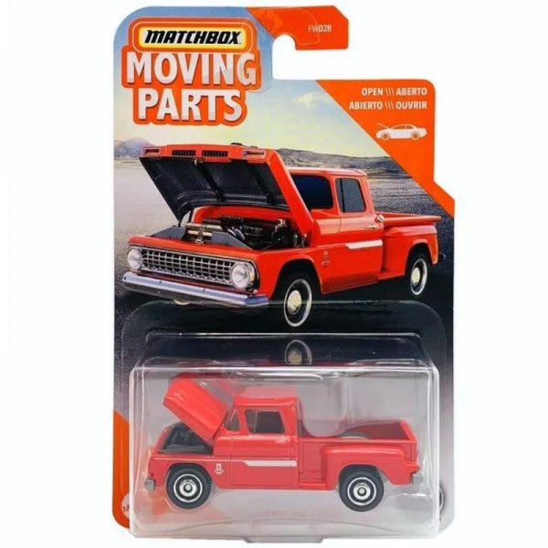 Matchbox | 1963 Chevrolet C10 Pick-Up rot Moving Parts Serie-Copy