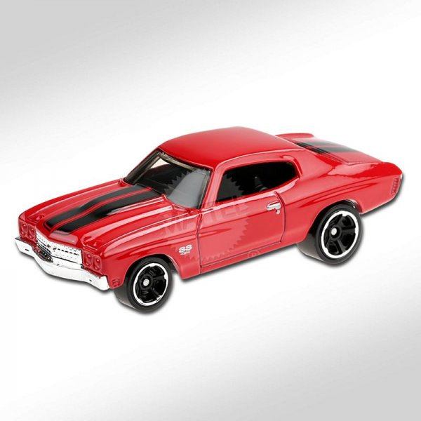 Hot Wheels | '70 Chevelle SS red FAST & FURIOUS