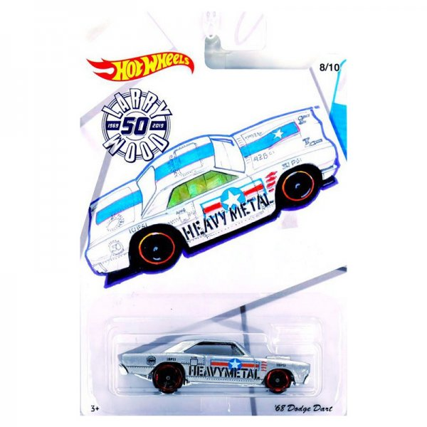 Hot Wheels | Larry Wood 50 Years of Design '68 Dodge Dart