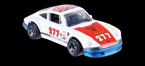 Hot Wheels | '71 Porsche 911 #277 Urban Outlaw blaue Bodenplatte US Karte