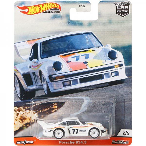 Hot Wheels   Porsche 934.5 white