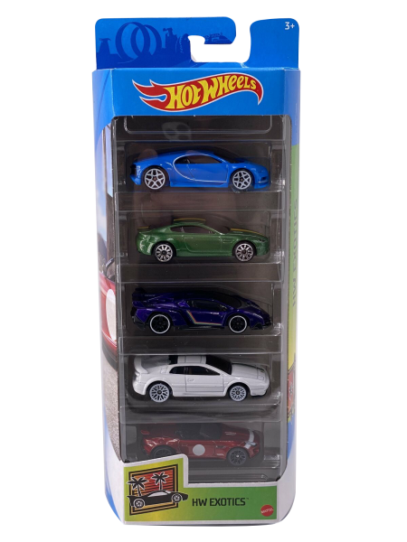 Hot Wheels | 5-Pack Exotics 2021