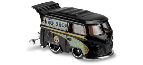 Hot Wheels | Kool Kombi schwarz Surf Shop Moon Eyes