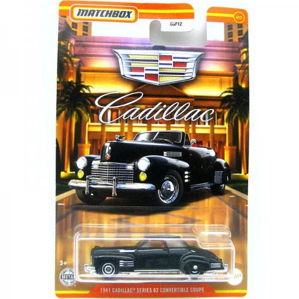 Matchbox   Cadillac Serie #06 1941 Cadillac Series 62 Convertible Coupe black