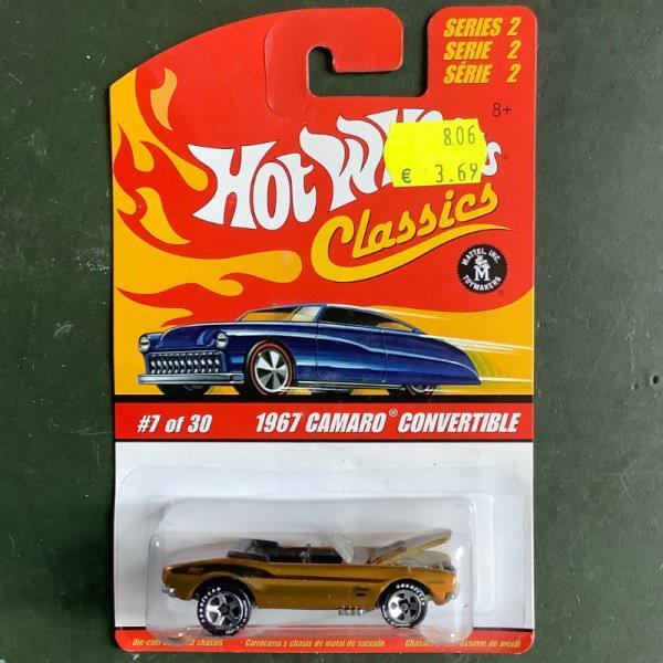 Hot Wheels | Classics Serie 2 7 of 30 1967 Camaro Convertible gold metallic
