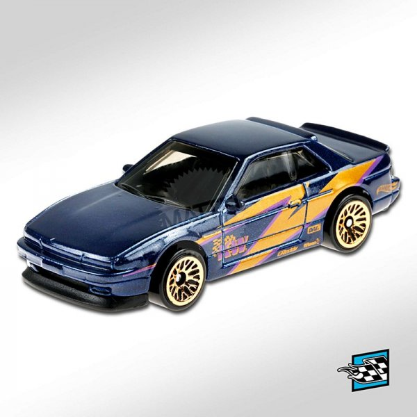Hot Wheels | Nissan Silvia (S13) dark blue metallic