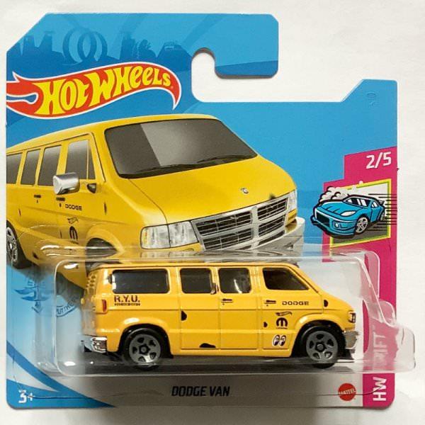 Hot Wheels | Dodge Van RYU yellow MOON EYES