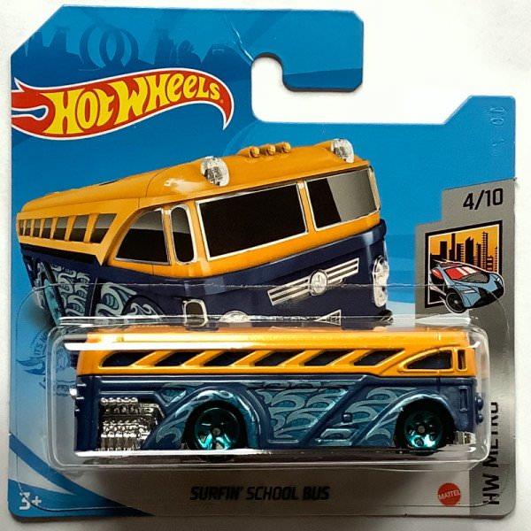 Hot Wheels | Surfin' School Bus yellow/blue