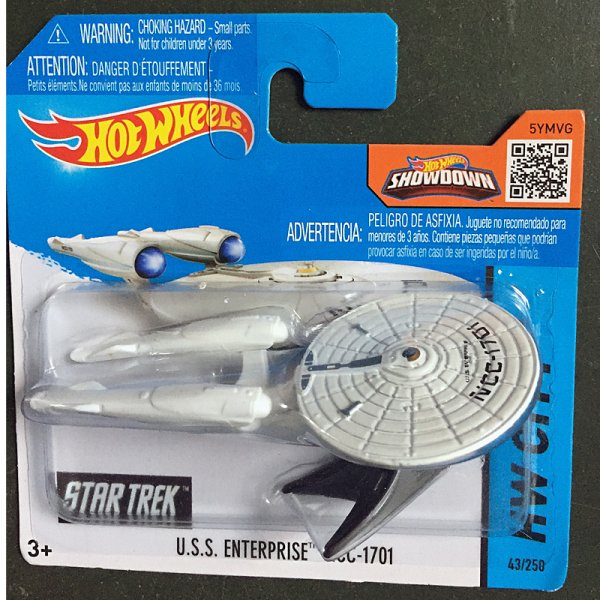 Hot Wheels | U.S.S. Enterprise NCC-1707 weiß