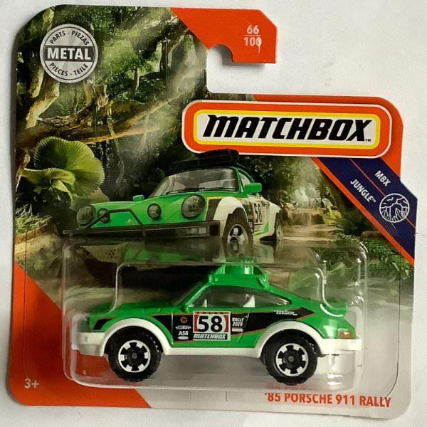 Matchbox | '85 Porsche 911 Rally giftgrün / weiß