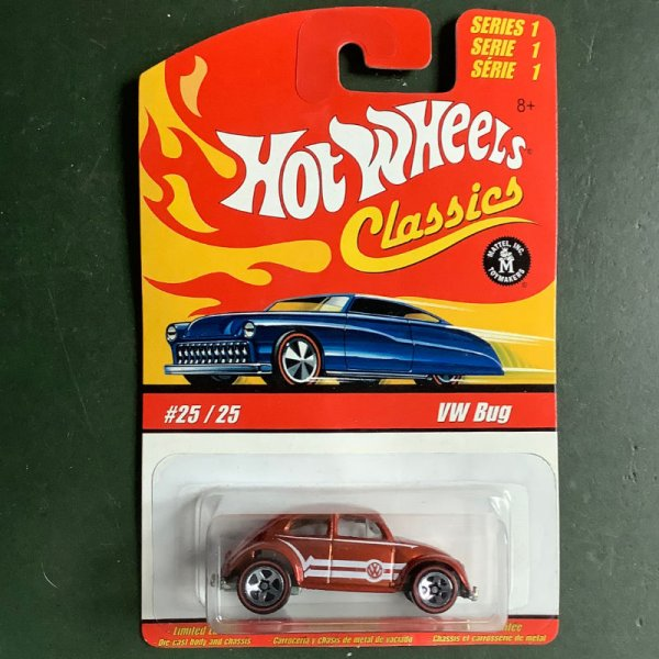 Hot Wheels   Classics Series 1 #25/25 VW Bug orange metallic