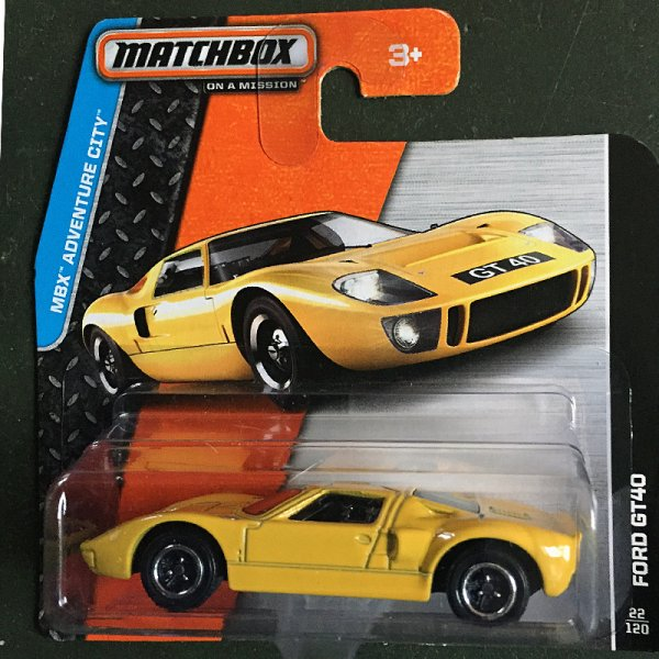 Matchbox | Ford GT40 in gelb