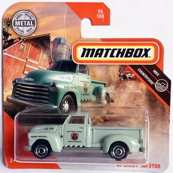 Matchbox | '47 Chevy AD 3100 National Parks Pick-Up turquoise