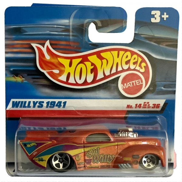 Hot Wheels | '41 Willys WILD WILLY orange pearl metallic