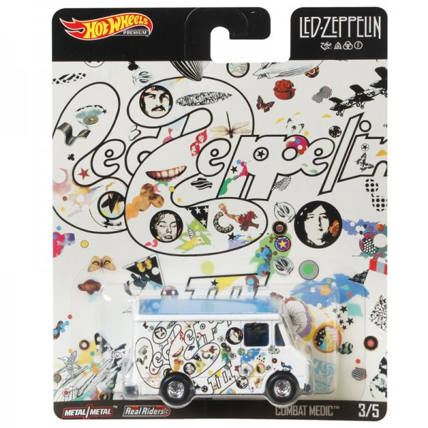 Hot Wheels | Led Zeppelin 03 Combat Medic