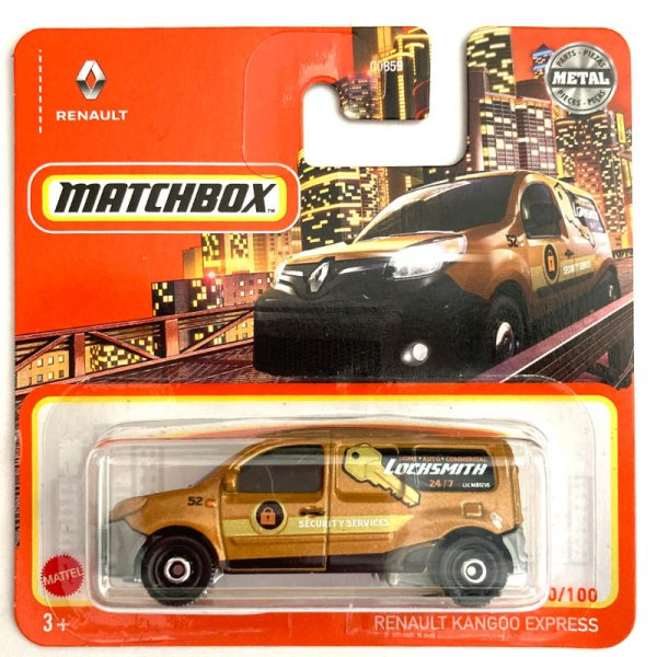 Matchbox   Renault Kangoo LOCHSMITH golden