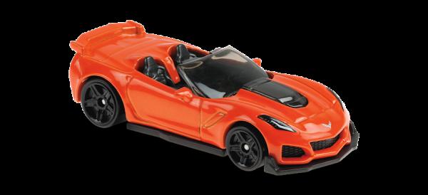 Hot Wheels | '19 Corvette ZR1 Convertible orange