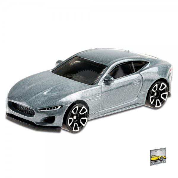 Hot Wheels | 2020 Jaguar F-Type grey metallic