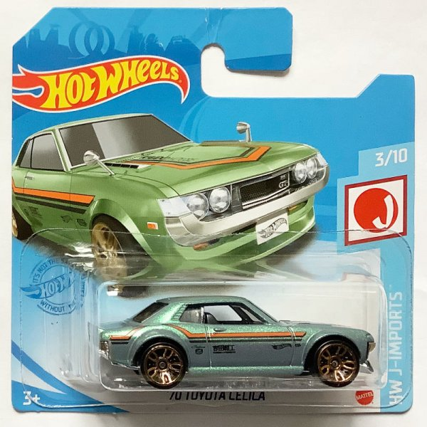 Hot Wheels | '70 Toyota Celica turquoise metallic