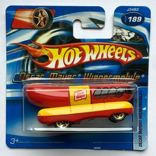 Hot Wheels | Oscar Mayer Wienermobile rot/gelb