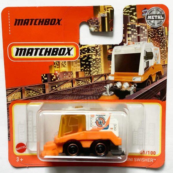 Matchbox | MBX Mini Swisher orange & white