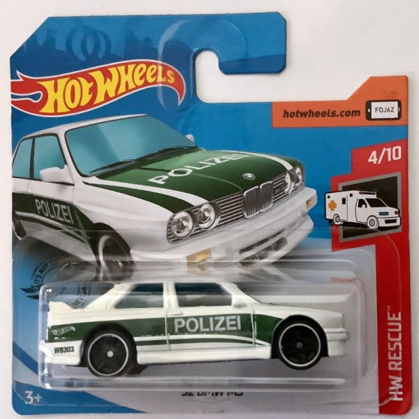 Hot Wheels | '92 BMW M3 Polizei