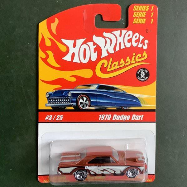 Hot Wheels   Classics Series 1 #3/25 1970 Dodge Dart orange metallic