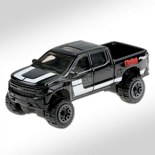 Hot Wheels | '19 Chevy Silverado Trail Boss LT schwarz