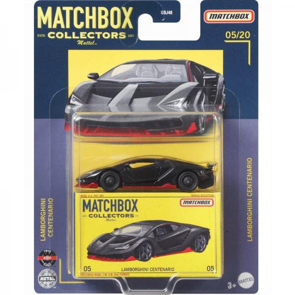 Matchbox | Collectors Serie 05/20 Lamborghini Centenario schwarz