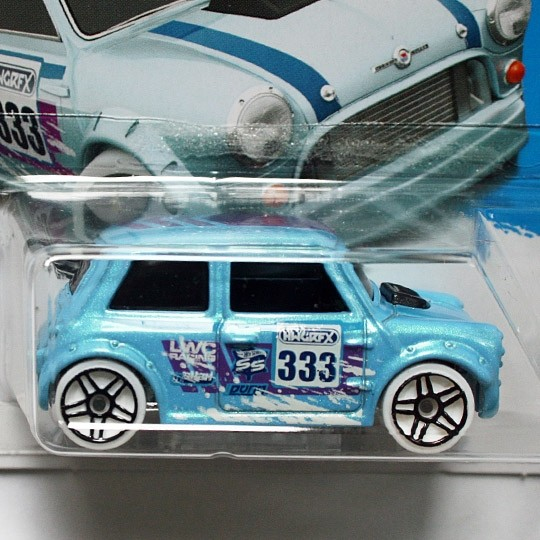 Hot Wheels | Morris Mini #333 Snow Stormer hellblaumetallic