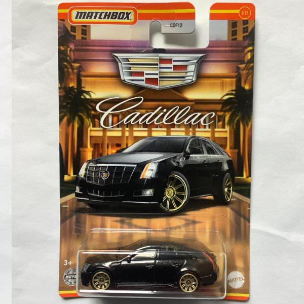 Matchbox   Cadillac Serie #08 Cadillac CTS Wagon schwarz
