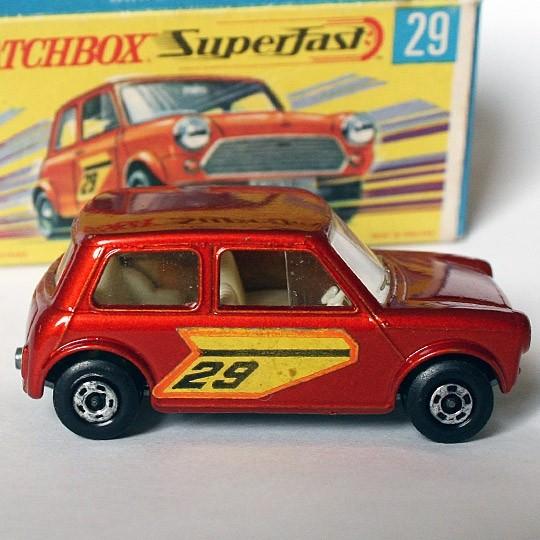 Matchbox | SF Racing Mini No 29 red metallic