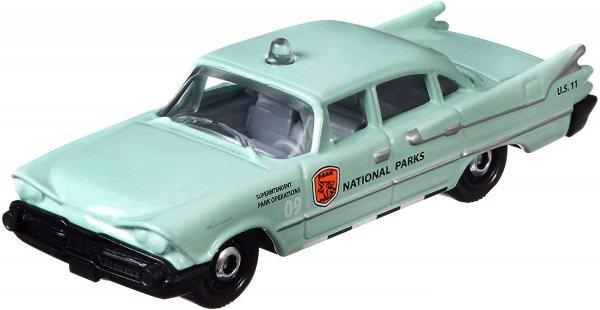Matchbox | '59 Dodge Coronet Police Car NATIONAL PARKS turquoise