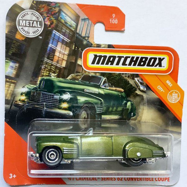 Matchbox | '41 Cadillac Series 62 Convertible Coupe
