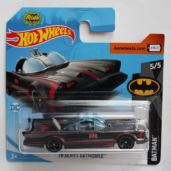 Hot Wheels | TV-Series Batmobile schwarz matt